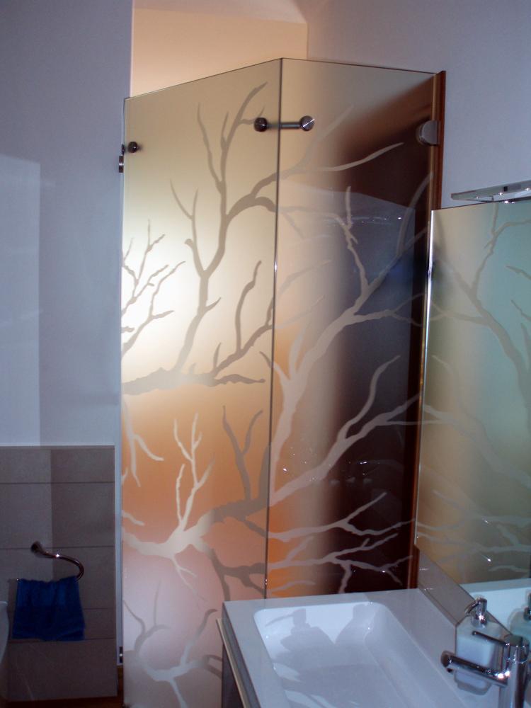 Divisorio in vetro per bagno conselvetro - Porte in vetro per bagno ...
