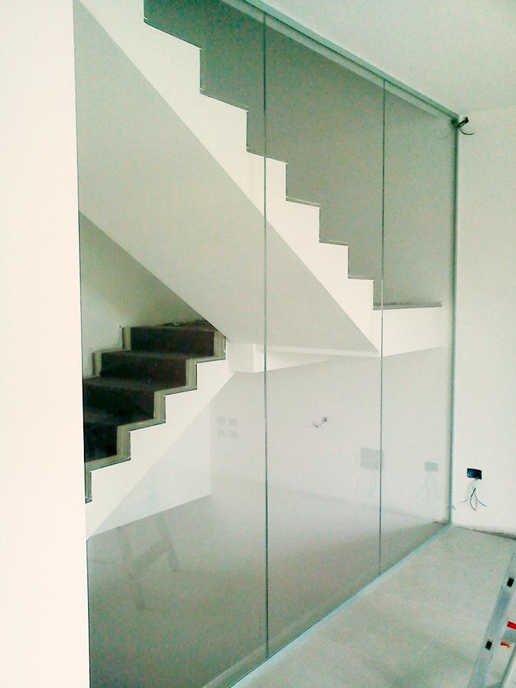 Parapetti e scale in vetro archivi conselvetro - Parapetti in vetro per scale ...