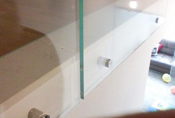 Chiusura in vetro vano scala conselvetro - Chiusura vano scala interno ...